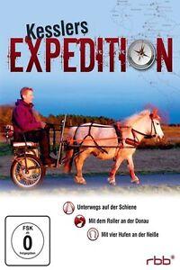 KESSLERS EXPEDITION VOL.3 - 4 DVD NEU