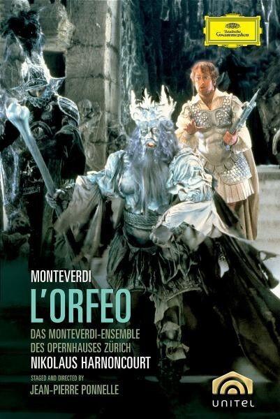 """CLAUDIO MONTEVERDI """"L'ORFEO (GA)"""" DVD NEU"""