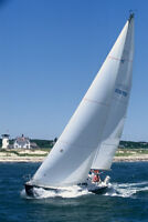 For sale a mainsail and genoa