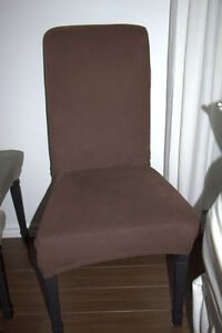 6 dining chair a 2 sets of chair covers