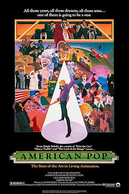 American Pop   1981   Movie Poster
