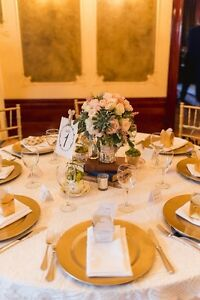 Lace Overlay Tablecloth