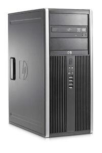 HP 8000 Core2Duo 4GB DDR3 RAM 320GB HDD Desktop