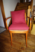 rattan caned seat and back