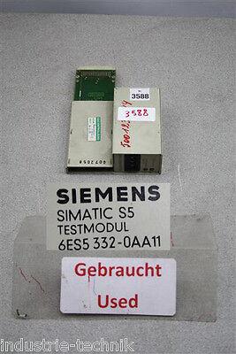 Test-modul (simatic 6es5 332-0aa11 TEST ADAPTER 6ES5332-0AA11 testmodul)