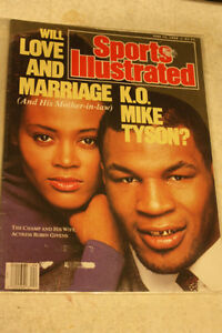 Mike Tyson with Robin Givens Sports Illustrated Magazine
