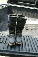 Motocross boots size 8