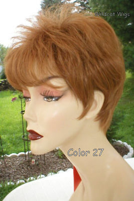 NEW LOW PRICE! Ajuji Wig . Short & Sexy!  Color Choice. Comes in Gray! - Low Price Wigs