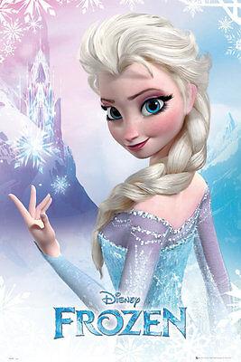 "Spanish movie Poster 4 film/""The Queen of SNOW/""Children.Children room.School.art"