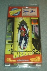 Marvel Wizard Toyfare signed Union Jack Invaders action figure