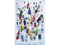 DRINKS ALCOHOL 11460 THE ESSENTIALS POSTER COCKTAILS 24 x 36
