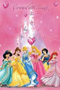 Disney Princess : Crowned - Maxi Poster 61cm x 91.5cm (new & sealed)