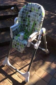 Bulk lot of Baby Items (pram, highchair, seat and baby swing)   -