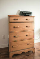 Commode 4 tiroirs - Chest of 4 drawers
