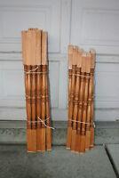 Oak Spindles 32 pcs $3.00 each or best offer