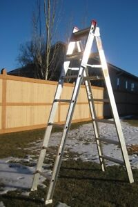 Ladders, 3 different sizes step/extension - $65