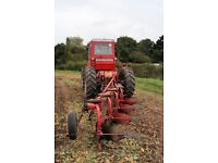 MF 4 furrow plough required