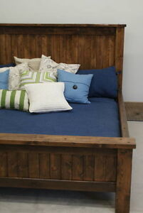 Provençal Bed Frame, All Solid Wood and More! By LIKEN Woodworks