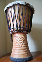 Beautiful Djembe Drum in excellent condition