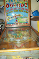 Pinball machine 1941 Chicago pinball company