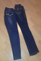 2 pairs of jeans size 1