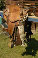 Bill Wilm Working Cow Horse Saddle