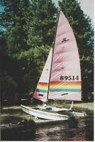 """1986 Hobie Cat """"Nationals"""" sailboat"""