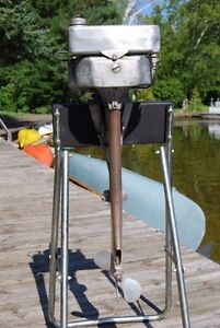 Vintage 4hp outboard