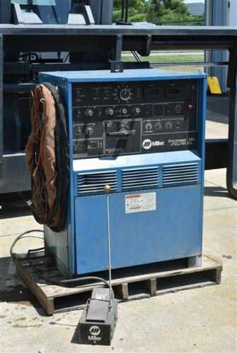 "350 AMP MILLER ""SYNCROWAVE 350"" CONSTANT CURRENT AC/DC ARC WELDER - #29041"