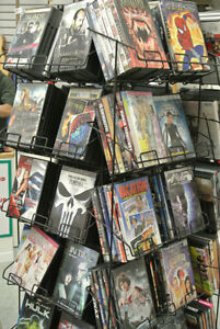 Huge selection of DVDs 5 for $15 or 10 for $20.00!