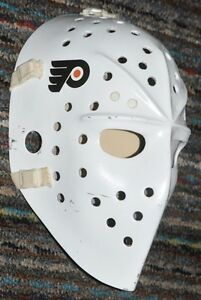 masque Bernie Parent fiberglass goalie mask replica hockey