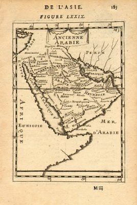 ANCIENT ARABIA. Saudi UAE Oman Qatar Petra. 'Ancienne Arabie'. MALLET 1683 map