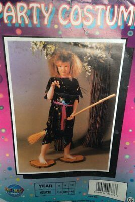 Clearance Halloween Costumes For Girls (HALLOWEEN COSTUMES REDUCED GIRLS CHILDRENS FANCY WITCH AGE 7-9 CLEARANCE)