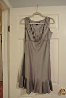 Silver Formal Dress, $25 obo - ONLY WORN ONCE