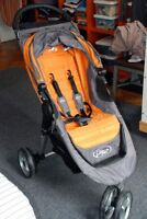 Poussette super compacte City Mini de baby jogger+Rain cover