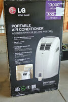 Brand New LG Portable Air Conditioner 10000BTU/hr (300SqFt)