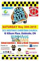 Community Bazaar / Rummage Sale May 30th at Westway & Kipling