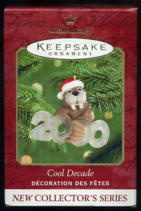 Hallmark Keepsake Cool Decade 2000
