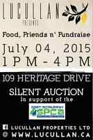 Silent Auction for Fort McMurray SPCA
