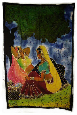 Batik Hanging Couple Women India Peterandclo MG9