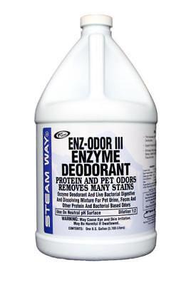 Carpet Cleaning Steam Way ENZ-ODOR III ENZYME DEODORANT