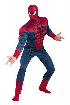 Plus Size Comic Kostüme (ADULT DC COMICS CLASSIC SPIDERMAN MUSCLE COSTUME PLUS SIZE DG42505C)
