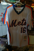 NEW YORK METS Dwight Gooden Throwback MLB Baseball Jersey