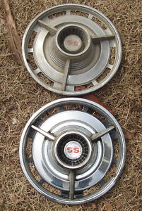 1964? Chevrolet/Chevelle SS Wheel Covers (Hubcaps) - 2 ONLY