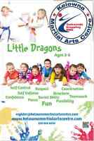 Martial Arts Lessons for 3-6 YRS