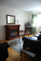 LACHINE WATERFRONT FURNISHED 4 1/2*WIFi*FIREPLACE*PARKING