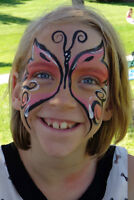 Face Painter with over 7 Years Experience!