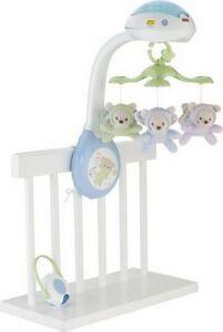 Einschlafhilfe Mobile Fisher Price Tierfreunde Musik Baby Spieluhr Kinderbett Baby Musik-Mobile