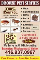 DISCOUNT PEST CONTROL (Affordable & Guaranteed Service)