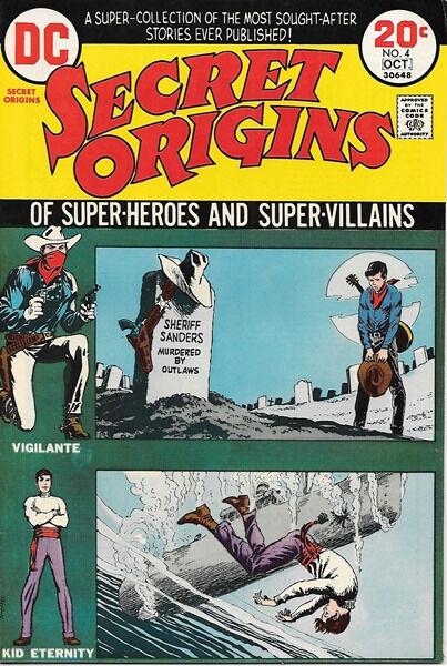 Secret Origins Comic Book #4, DC Comics 1973 VERY FINE+